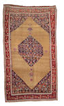 A Bidjar carpet Northwest Persia, Size approximately 12ft 8in x 7ft 1in