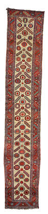 A Bakshaish runner Northwest Persia, Size approximately 14ft 10in x 2ft 8in