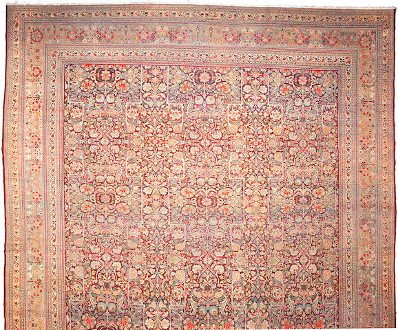 An Amritsar carpet India,  Size approximately 30ft 6in x 16ft 9in