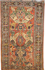 A Soumak carpet Caucasus, Size approximately 10ft 3in x 6ft 8in