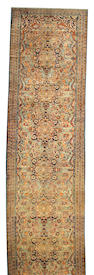 A Hamadan runner Central Persia, Size approximately 19ft 8in x 5ft 3in