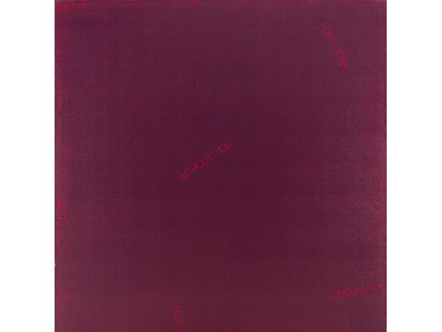 Robert Barry (American b. 1936) Untitled (deep purple), 1988 70 x 70in (178 x 178cm)