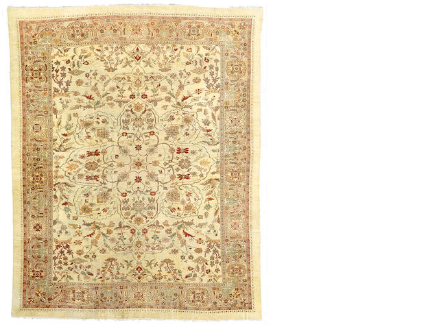 A Ziegler Mahal carpet Central Persia, Size approximately 16ft 3in x 13ft