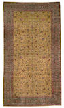 A Meshed Emoghli carpet Northeast Persia, Size approximately 23ft 8in x 13ft 4in