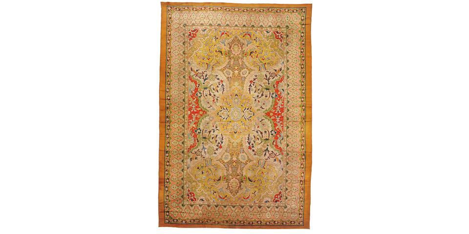 An English carpet Size approximately 19ft 3in x 13ft