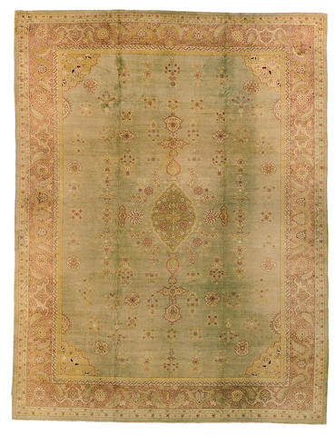 An Amritsar carpet India, Size approximately 17ft 3in x 13ft 2in