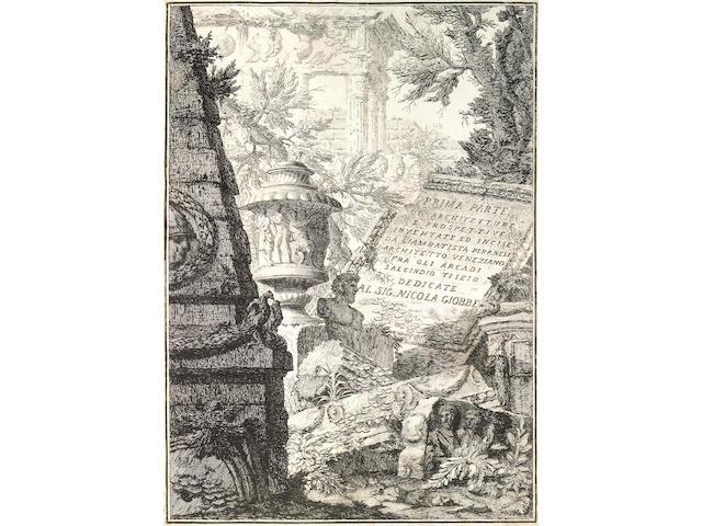 Giovanni Battista Piranesi; Prima Parte di Architetture, e Prospettive inventate, ed incise da Gio. Batta Piranesi Architetto Veneziano dedicate al Sig. Nicola Giobbe; (16)