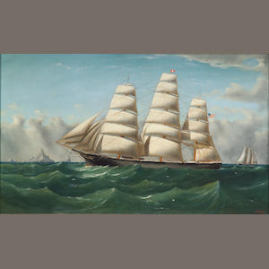 William Alexander Coulter, (1849-1936), 'The Clipper Ship, Three Brothers'