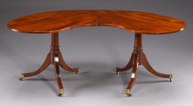 A George III mahogany hunt table