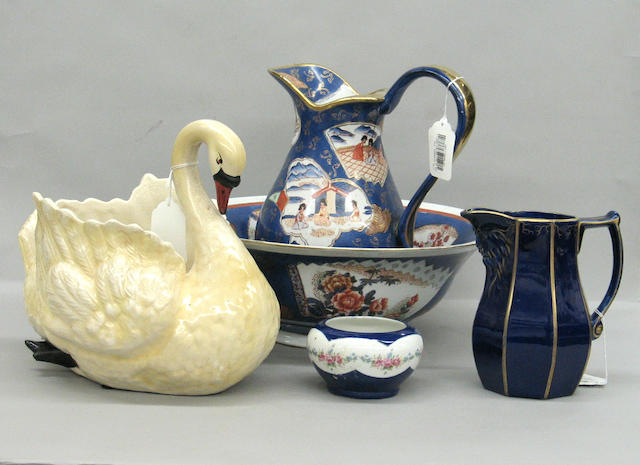An assembled group of English and Continental ceramics