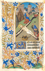 BOOK OF HOURS. Circa 1450. 172 leaves.