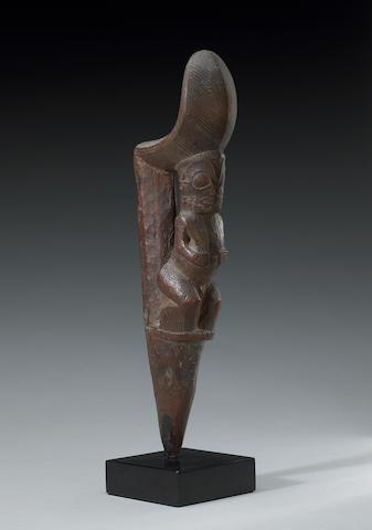 A Marquesas Island stilt step