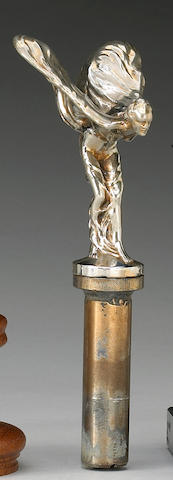 A Rolls-Royce Silver Shadow 'Spirit of Ecstasy' mascot, pre-1977,