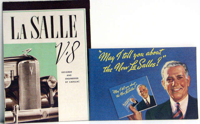 A collection of LaSalle catalogues, 1936-1940,