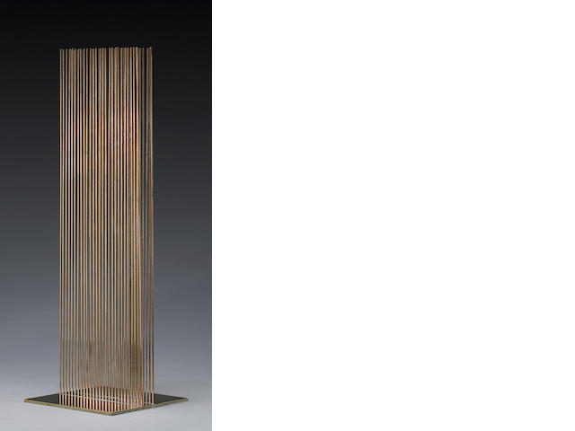 Harry Bertoia (American, 1915-1978) Sounding Sculpture, 1974 Height: 21in (53cm)
