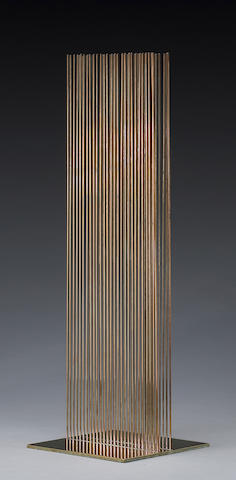Harry Bertoia (American, 1915-1978) Sounding Sculpture, 1974 Height: 21in (53cm)