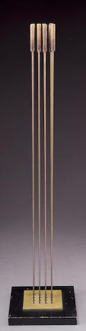 Harry Bertoia (American, 1915-1978) Untitled (Sound Sculpture) height: 56 3/4in (144cm)