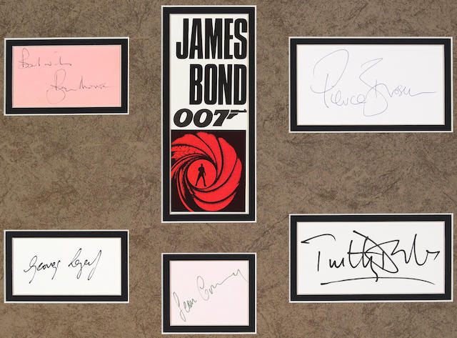 James Bond matted ensemble