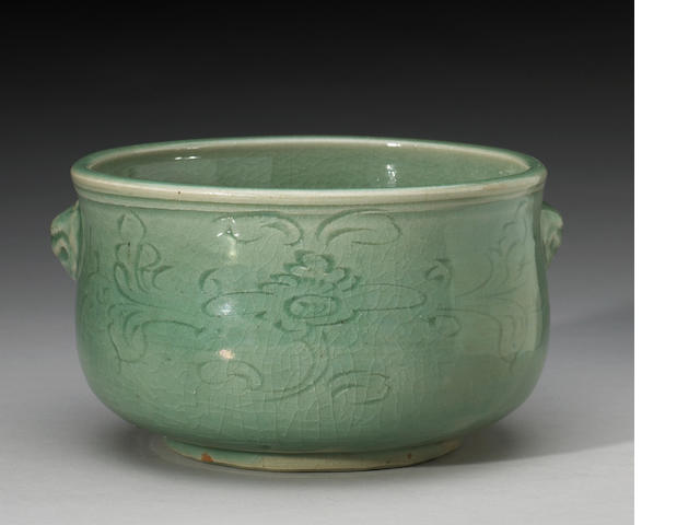 A Long Quan celadon censer