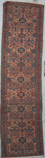 A Lilihan runner Central Persia Size approximately 9ft 8in x 2ft 7in