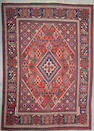 A Josheghan carpet South Central Persia Size approximately 9ft 10in x 7ft