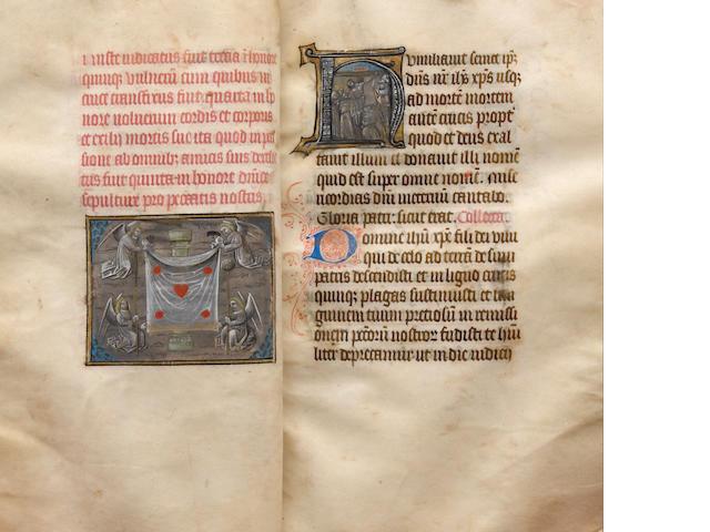 Ingoldisthorp Psalter. Circa 1465.