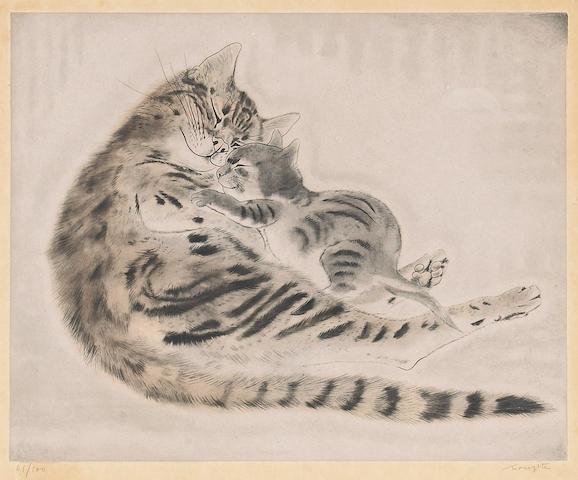 Tsuguharu Foujita (1886-1968): one modern print