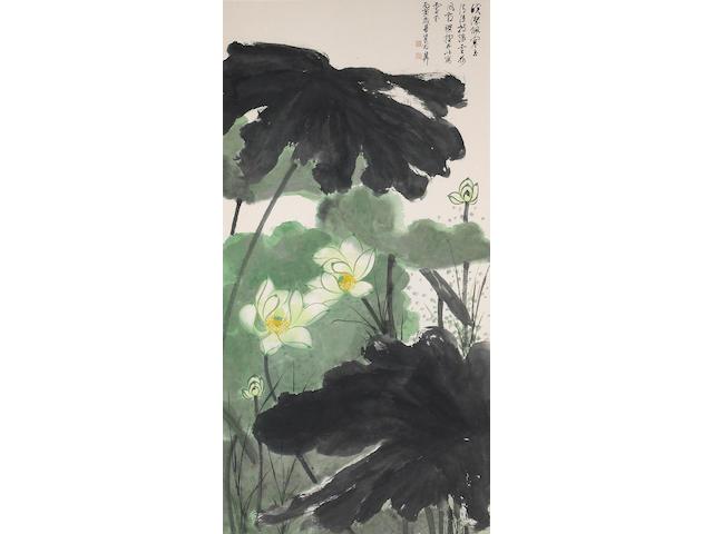 Xie Zhiliu (1910-1997): Lotus