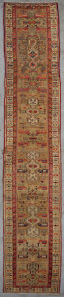 A Serab runner  Northwest Persia, Size approximately 15ft x 2ft 11in