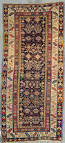 A Caucasian rug Size approximately 7ft 6in x 3ft 4in