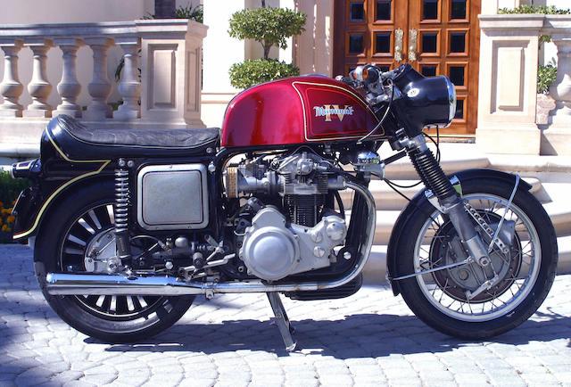 The ex- Otis Chandler Collection, Von Dutch,1969 Münch 1200 TTS 'Mammoth'  Frame no. TT0017 Engine no. TT0017