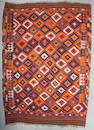 A Persian kilim Size approximately 10ft 9in x 8ft 8in