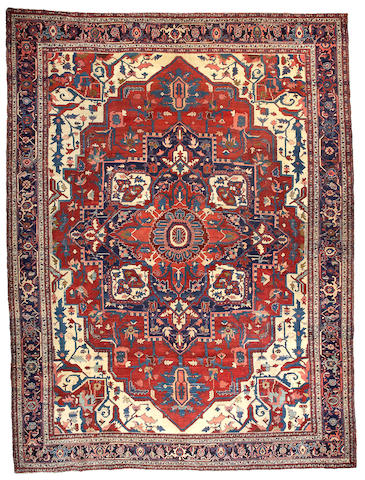 A Serapi carpet Northwest Persia, Size approximately 15ft 4in x 11ft 6in