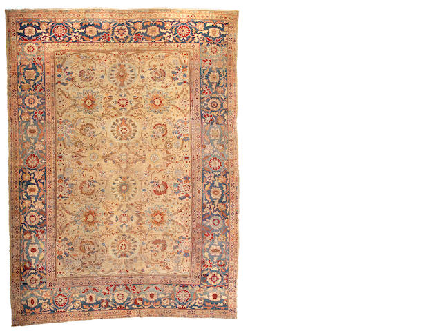 A Sultanabad carpet Central Persia, Size approximately 14ft x 10ft 3in