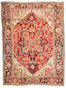 A Heriz carpet Northwest Persia, Size approximately 11ft 7in x 8ft 8in