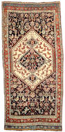 A Southwest Persian runner Size approximately 10ft 6in x 4ft 4in