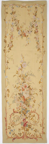 An Aubusson style panel