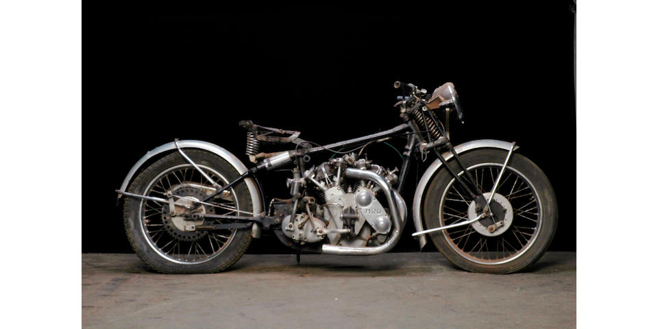 1939 Vincent-HRD Series A Rapide Frame no. DV1735 Engine no. V1069
