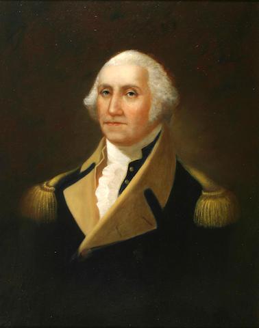 Frank Eastman Jones (19th Century) Portrait of General George Washington 34 x 26 1/2in (86.3 x 67.2cm)