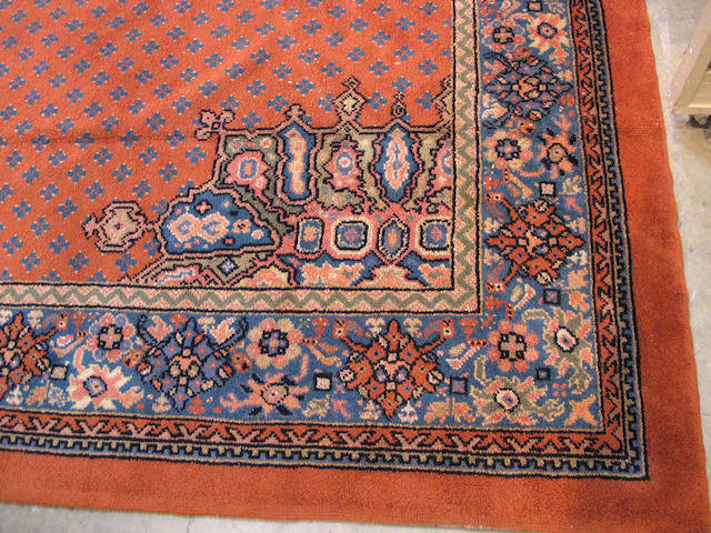 An Art Deco carpet Size approximately 15ft 10in x 11ft 2in