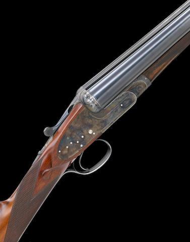 12 gauge Boss sidelock ejector double barrel shotgun