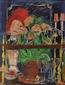 Ludwig Bemelmans (1898-1962) Au bar 25 1/4 x 19 1/2in (64 x 50cm)
