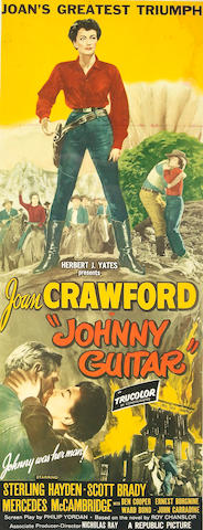 Johnny Guitar, 1954, 37x15, framed