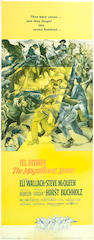 The Magnificent Seven, 1960, 37x15, framed