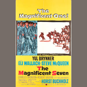 The Magnificent Seven, 1960, 42x29, LB
