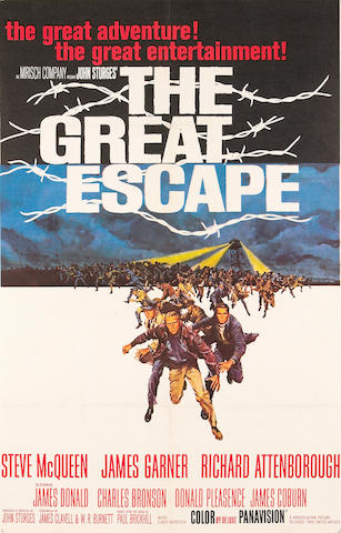 The Great Escape, 1963, 29x42, LB