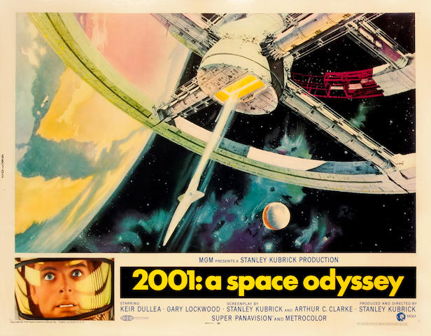 2001: A Space Odyssey, 1968, 22 x 28in
