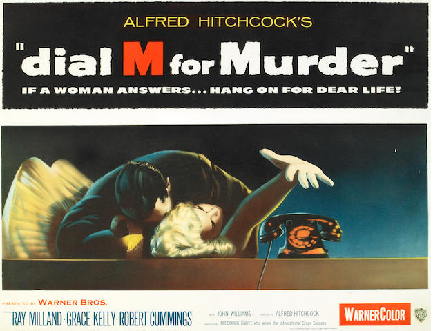 Dial M for Murder, 1954, 28x22, framed