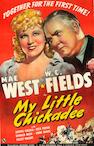 My Little Chickadee, 1940, 41x27, Framed