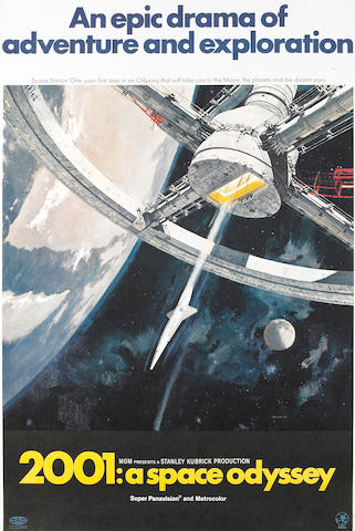 2001 Space Odyssey, 1968, 60x40